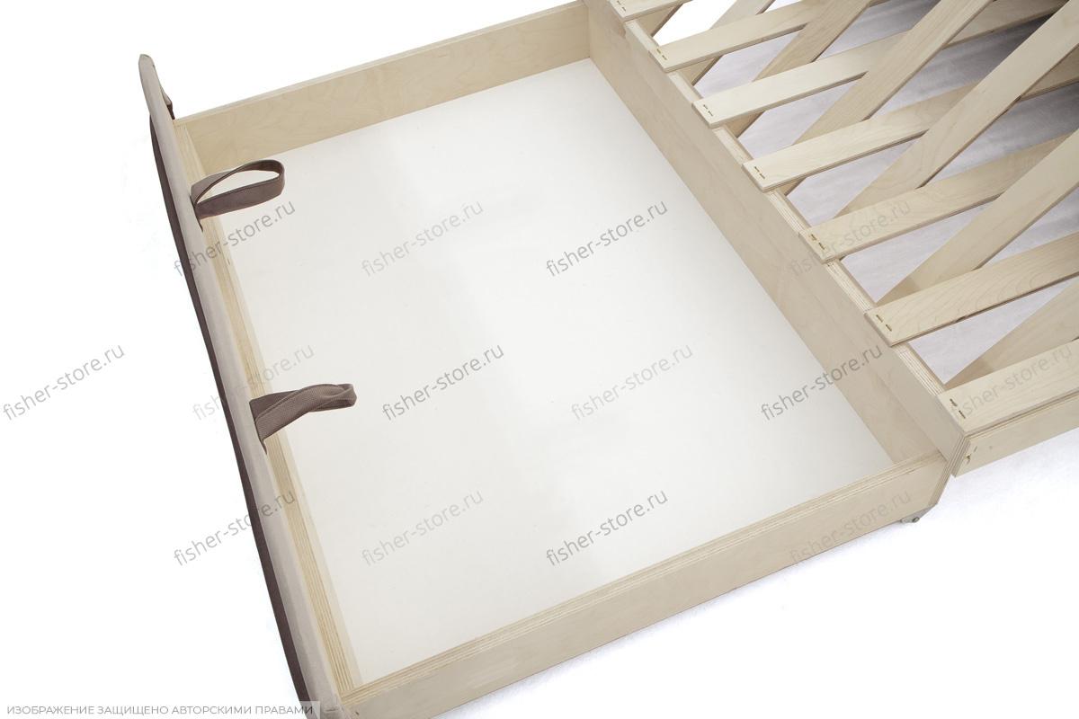 Прямой диван Димочка Ящик для белья