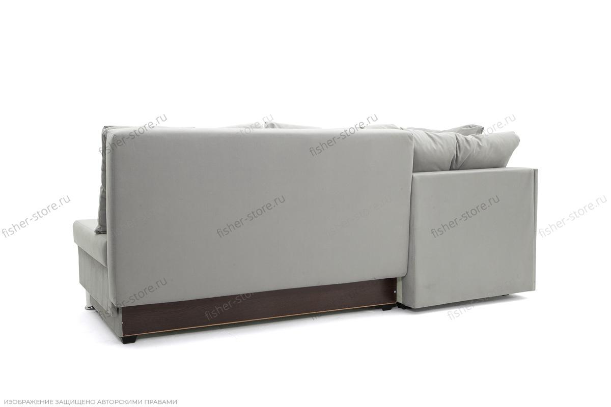 Серый угловой диван Бруно Вид сзади