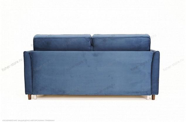 Синий диван Глен MФ (Furny) Вид сзади