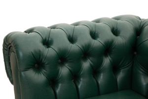 Прямой диван со спальным местом Честер MФ (So-Co) Подлокотник