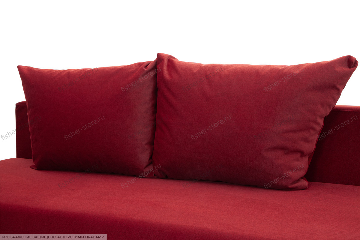 Прямой диван еврокнижка Токио-4 Подушки