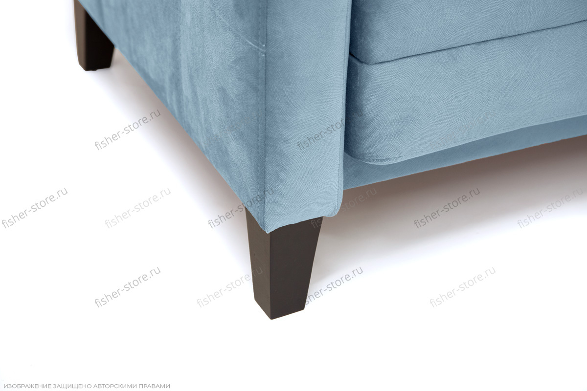 Прямой диван Дубай с опорой №3 MФ (So-Co) Ножки