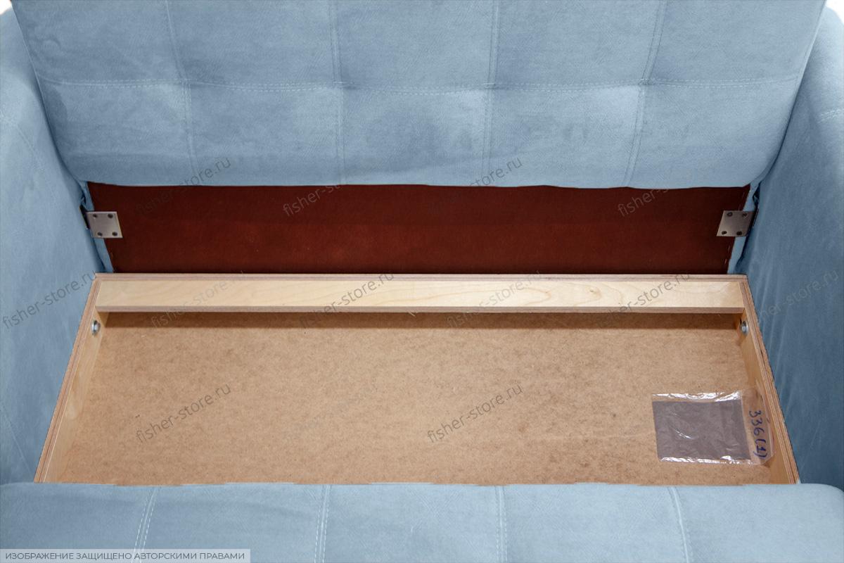 Прямой диван Дубай с опорой №3 MФ (So-Co) Ящик для белья
