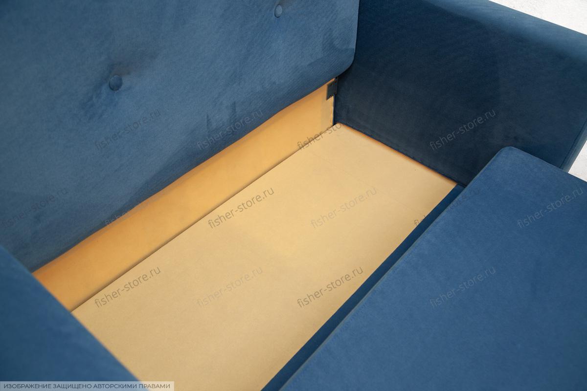 Прямой диван со спальным местом Глэм MФ (So-Co) Ящик для белья