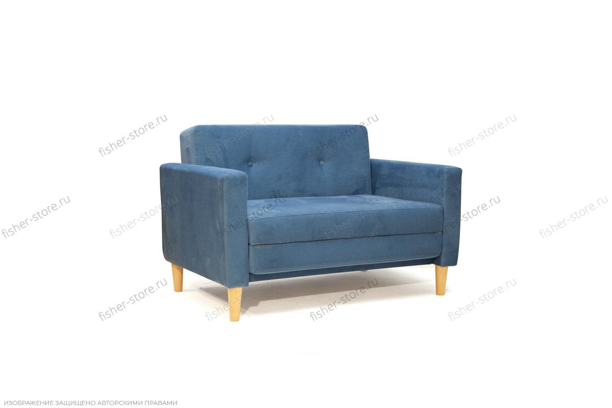 Прямой диван со спальным местом Глэм MФ (So-Co) Вид по диагонали
