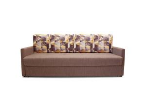 Прямой диван со спальным местом Джейсон MФ (So-Co) Вид спереди