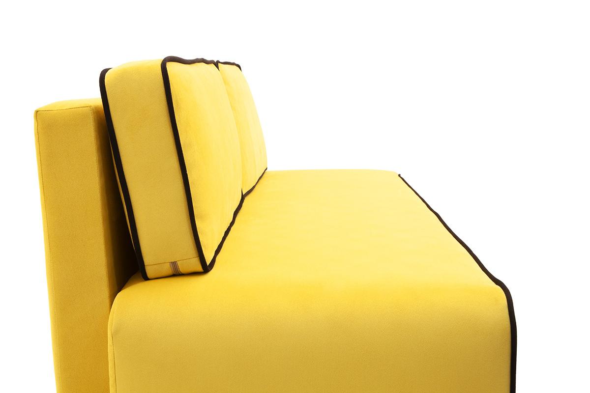 Прямой диван со спальным местом Хуго Подушки