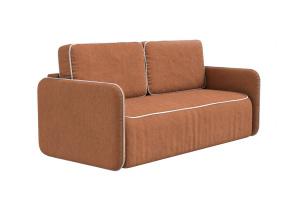 Прямой диван со спальным местом Лофт MФ (So-Co) Вид по диагонали