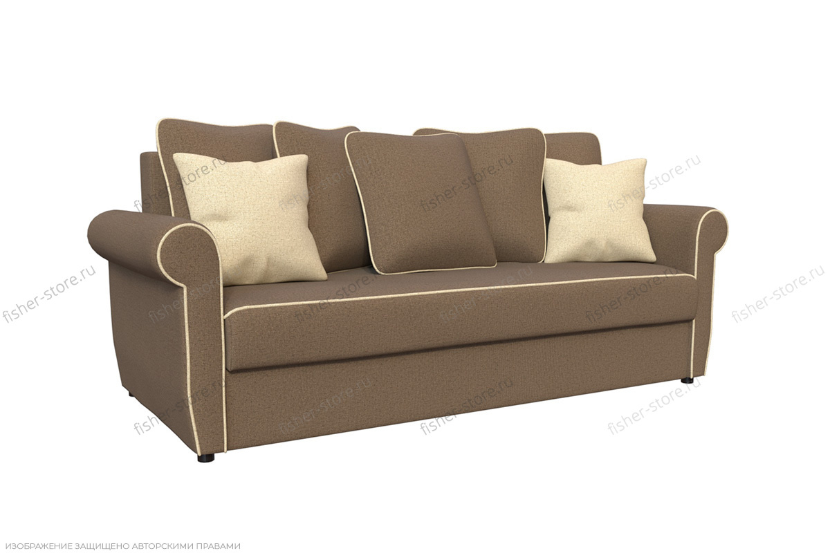 Прямой диван со спальным местом Гамбург MФ (DiHall) Вид по диагонали