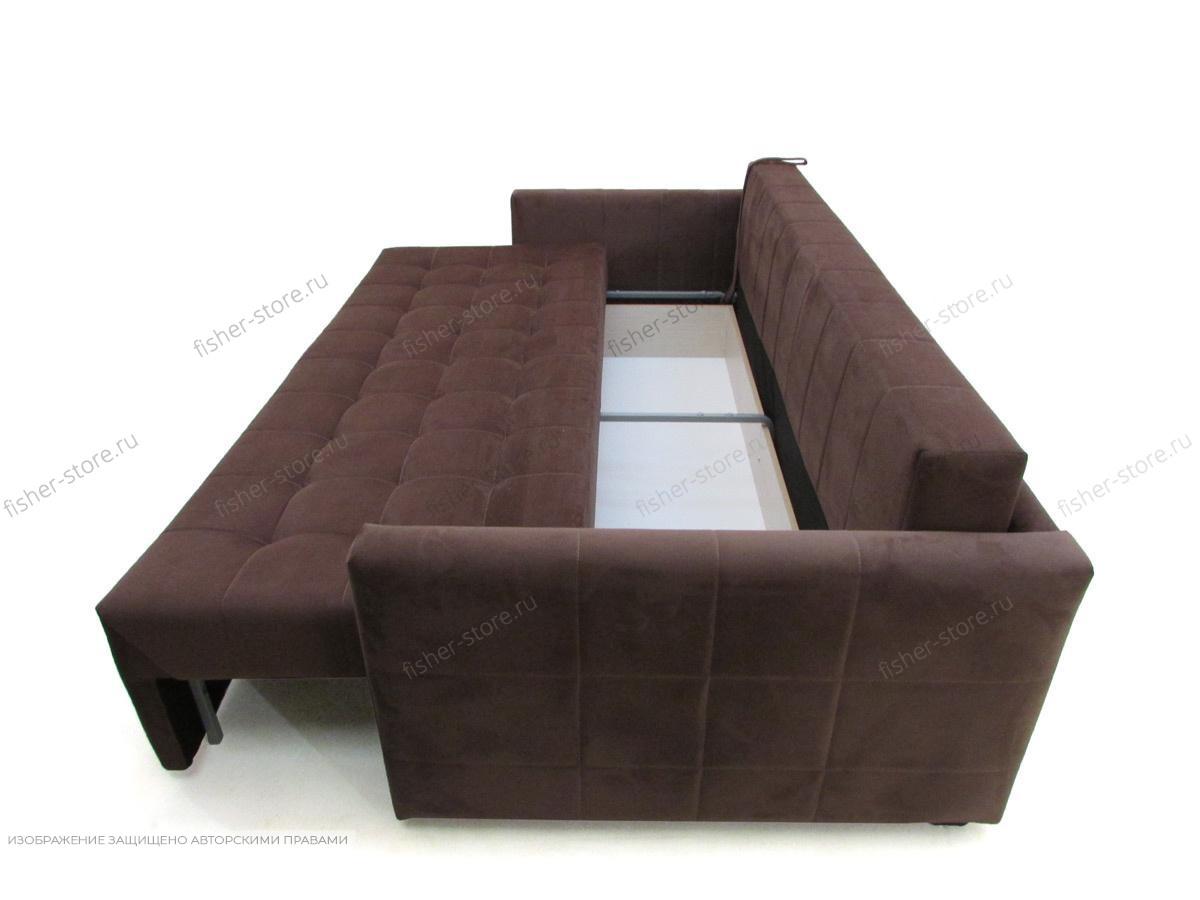 Прямой диван Эвент MФ (Акула) Ящик для белья