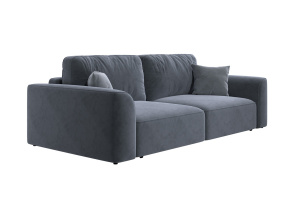 Прямой диван со спальным местом Сиэтл MФ (DiHall) Вид по диагонали